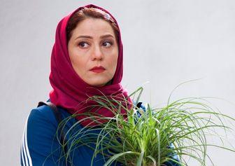 ابراز همدردی شبنم مقدمی با «نسیم ادبی»/ عکس