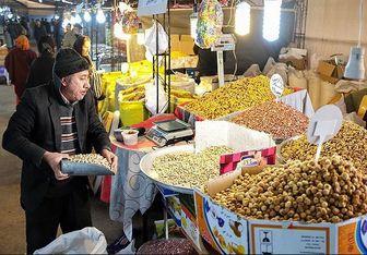 بازار آجیل شب یلدا با طعم رکود/ کاهش قیمتها هم مردم را به بازار نیاورد