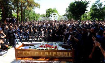 مراسم تشییع پیکر «بهنام صفوی برگزار شد» /تصاویر