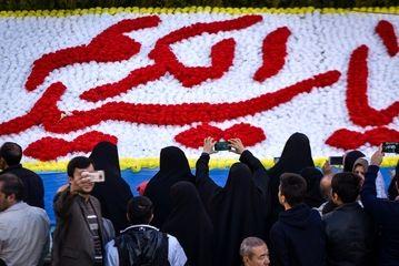 تعویض پرچم گنبد حضرت عبدالعظیم الحسنی(ع)/ گزارش تصویری