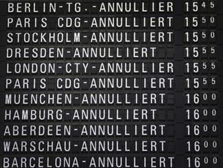 لغو ۶۰۶ پرواز در پی اعتصابات گسترده در آلمان