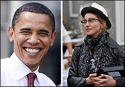 حمایت جالب خواننده مشهور از اوباما