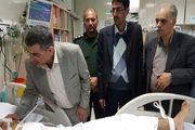 حریرچی از مصدومین حادثه تروریستی زاهدان عیادت کرد+ تصاویر