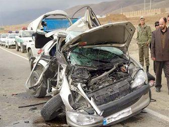 دو تصادف در بروجرد پنج کشته و زخمی بر جای گذاشت