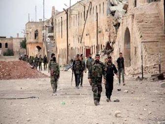 کنترل شهر ملیحه در دست ارتش سوریه