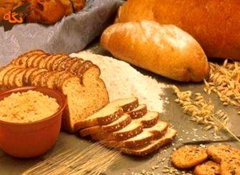 مصرف روزانه نان و غلات، 30 درصد کلسیم بدن را تامین می کند