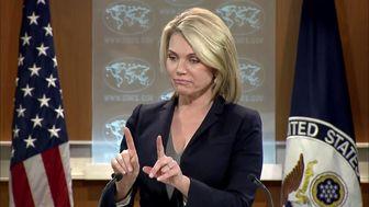 اظهارات مضحک سخنگوی وزارت امور خارجه آمریکا در توجیه وتوی قطعنامه پیشنهادی مصر