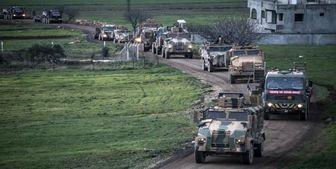 ورود دهها خودروی نظامی ترکیه به شمال سوریه