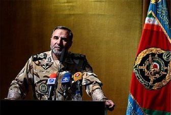 برگزاری صبحگاه مشترک ارتش با حضور امیر حیدری