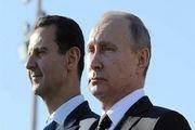 رایزنی تلفنی پوتین با بشار اسد