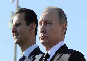 بشار اسد و پوتین در ایست بازرسی سوریه +عکس