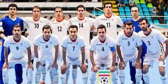 اسامی بازیکنان تیم ملی فوتسال در مقدماتی قهرمانی آسیا اعلام شد