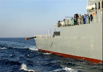 ماهی نهنگخوار ایرانی در پی شکار ناوهای آمریکایی