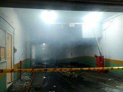 عملیات اطفای حریق ساختمان وزارت نیرو به پایان رسید