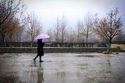 رشد ابر، رگبار باران و وزش باد در بسیاری از مناطق کشور