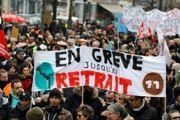 تظاهرات هزاران نفر در پاریس علیه «ماکرون»