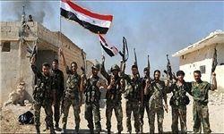 ادامه درگیری با داعش در خارج از تدمر