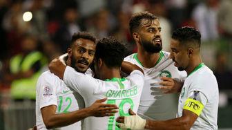 عربستان سعودی ۲ - ۰ لبنان /پیروزی سعودیها با طعم صعودبه دور حذفی