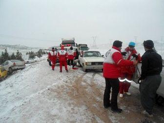 رهاسازی بیش از 2 هزار خودرو گرفتار در برف