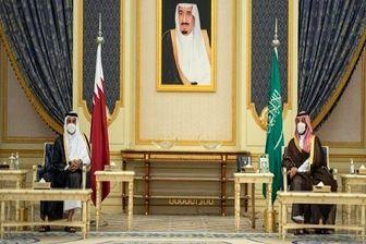 دیدار امیر قطر با «محمد بن سلمان»