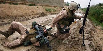 کشته شدن یک نظامی تروریست آمریکایی در عراق