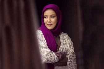 «پانته آ بهرام» در لباس هلال احمر/ عکس