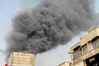 ساختمان پلاسکو به طور کامل فرو ریخت/  شهادت ۲۰ آتشنشان+ تصاویر