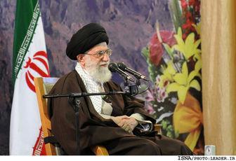 سخنان رهبرانقلاب درحرم عبدالعظیم حسنی(ع)