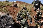 عملیات ارتش سوریه در نزدیکی بلندیهای جولان اشغالی