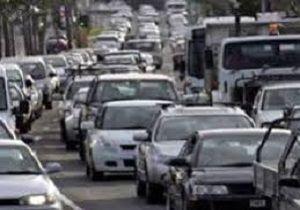 ترافیک سنگین در جاده خرمشهر - شلمچه