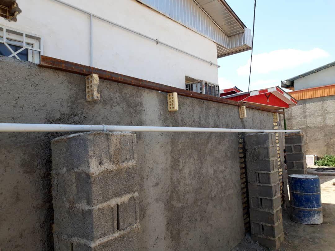 اتمام پروژه بازسازی مرکز بهداشت تخریب شده روستای خانقرمه