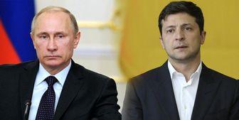 گفتوگوی تلفنی ولادیمیر پوتین با همتای اوکراینی خود