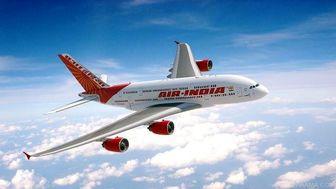 فرود اضطراری یک هواپیما در هند