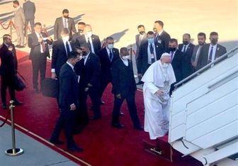پایان سفر سه روزه پاپ به عراق
