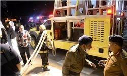 بیمارستان مکه در آتش سوخت