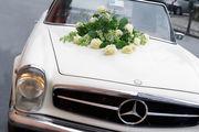 ماشین عروس متفاوت در کرمان/ عکس