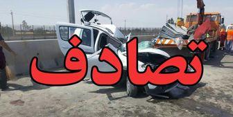 یک کشته در تصادف مرگبار اتوبان آزادگان