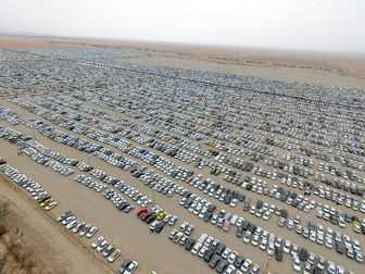 آخرین وضعیت پارکینگ مهران در اربعین 98