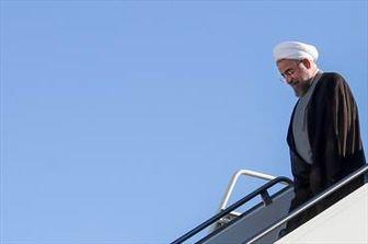 چه کسی در فرودگاه آمریکا از روحانی استقبال کرد؟