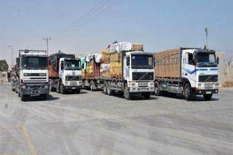 بارگیری کامیونهای ایرانی به عراق دچار اختلال شد