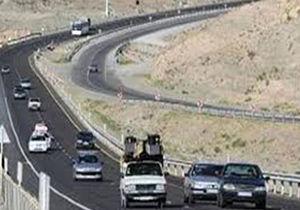 وضعیت ترافیک جادههای کشور