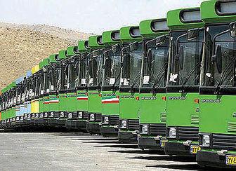 آمادهباش ناوگان اتوبوسرانی برای خدمات دهی در روزهای آلوده