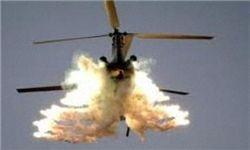 سقوط بالگرد ناتو در افغانستان
