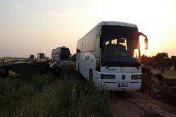 تروریست ها با 73 اتوبوس از حمص خارج شدند