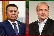پیام تبریک رییس مجلس قرقیزستان به قالیباف