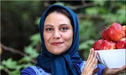 عکس «هیولایی» شبنم مقدمی درکنار آقای بازیگر