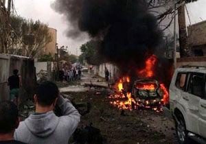 انفجار خودروی بمب گذاری شده نزدیک مرز سوریه و اردن