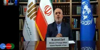 ظریف: راه نظامی برای حل مشکل افغانستان شکست خورده است