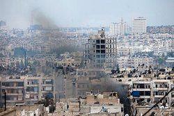 حمله تروریستها با خمپاره به  دمشق