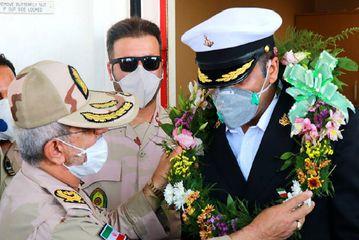 استقبال از نفتکش ایرانی در بازگشت از ونزوئلا /گزارش تصویری